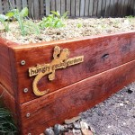 Raised Ironbark Vegetable Garden